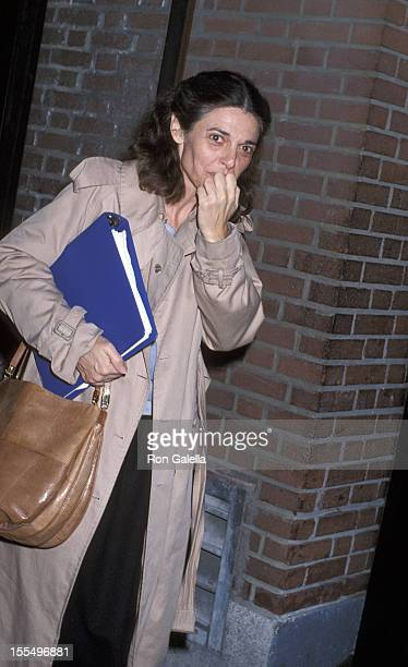 Anne Bancroft during Anne Bancroft File Photos circa 19701980 in New York City New York United States