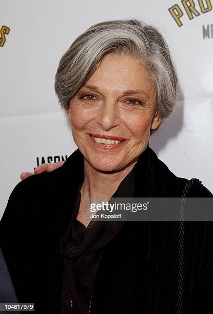 Anne Bancroft during Opening Night of The Producers at Pantages Theatre in Hollywood California United States