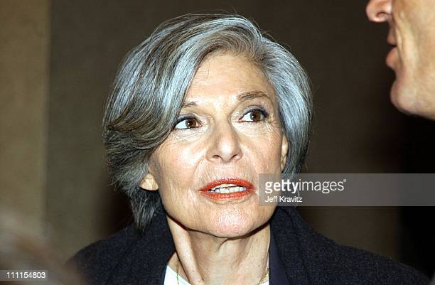 Anne Bancroft during Showtime Networks Inc Television Critics Associations Presentation at Renaissance Hotel in Hollywood CA United States