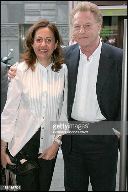 Anne Barrere and Robert Namias at Paris Premiere Of The Film Tu Peux Garder Un Secret At L' Elysee Biarritz