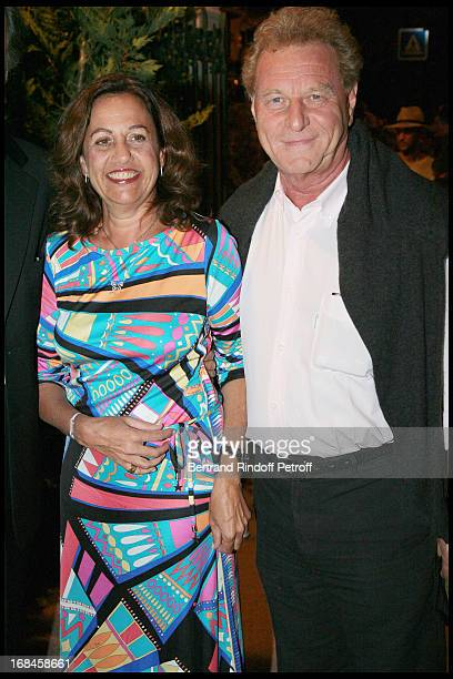 Anne Barrere Robert Namias at Opening Of The 24th Ramatuelle Festival With Show La Vie En Rire