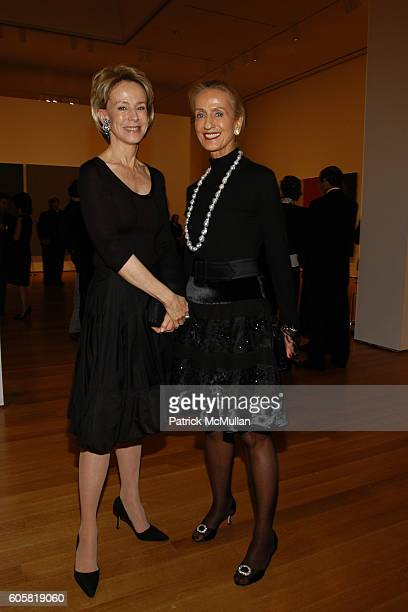 Anne Bass and attend MoMA Opening Celebrating Brice Marden A Retrospective of Paintings and Drawings at MoMA on October 24 2006