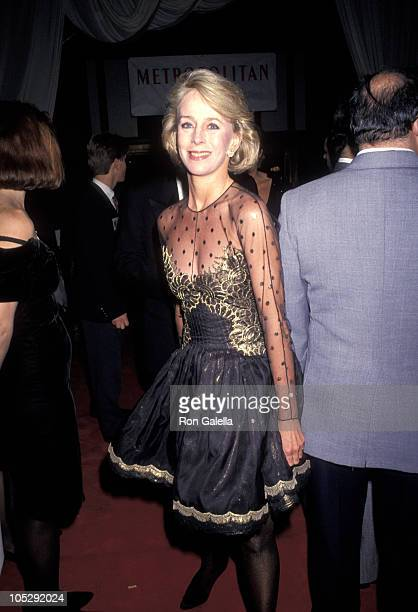 Anne Bass during Metropolitan Home Show A Street of Shops Gala at 7th Regiment Armory in New York City New York United States