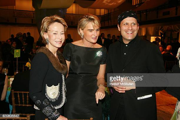Anne Bass Olivia Flatto and Isaac Mizrahi attend New York City Opera's SPRING GALA Henry Purcell's KING ARTHUR at New York State Theater on March 5...