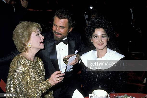 Anne Baxter James Brolin and Connie Sellecca during Anne Baxter File Photos by Galella United States