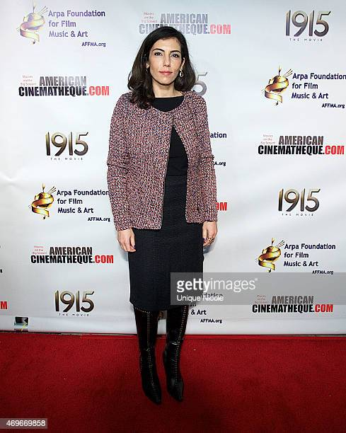 Anne Bedian attends '1915 The Movie' Los Angeles Premiere at American Cinematheque's Egyptian Theatre on April 13 2015 in Hollywood California