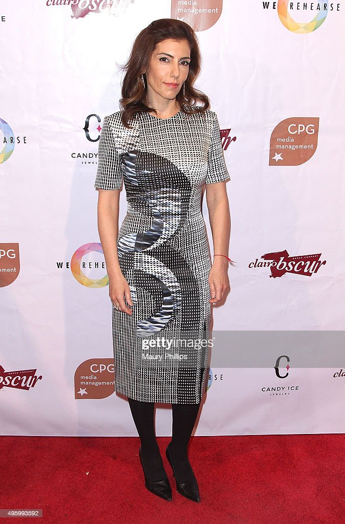 Anne Bedian attends Danse Avec Clairobscur at Aventine Hollywood on November 5, 2015 in Hollywood, California.