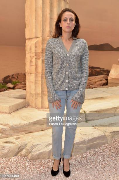 Anne Berest attends the 'Chanel Cruise 2017/2018 Collection' at Grand Palais on May 3 2017 in Paris France