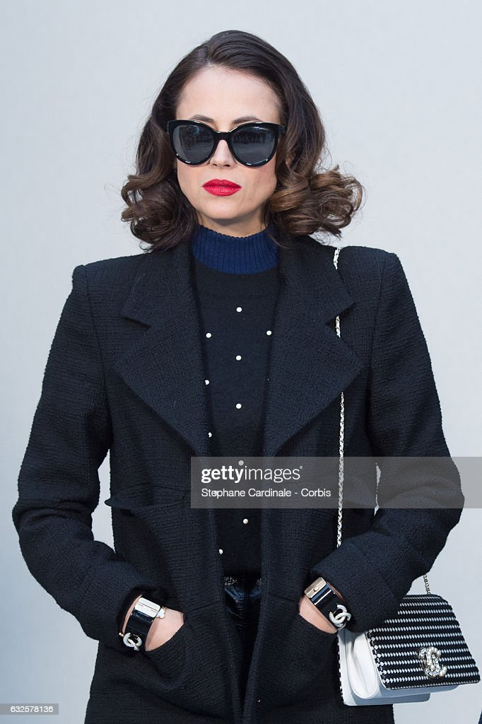 Anne Berest attends the Chanel Haute Couture Spring Summer 2017 show as part of Paris Fashion Week on January 24, 2017 in Paris, France.