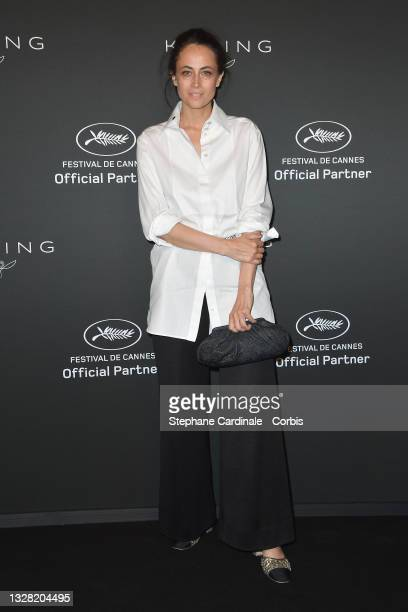 Anne Berest attends the Kering Women In Motion Awards during the 74th annual Cannes Film Festival on July 11, 2021 in Cannes, France.