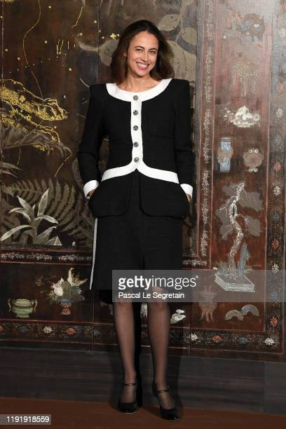 Anne Berest attends the photocall of the Chanel Metiers d'art 2019-2020 show at Le Grand Palais on December 04, 2019 in Paris, France.
