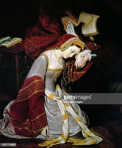 Anne Boleyn in the Tower of London Found in the collection of Musée Rolin Autun