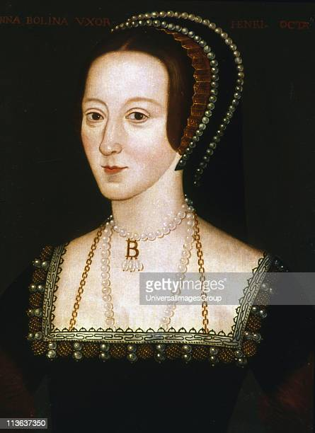 Anne Boleyn second wife of Henry VIII of England mother of Elizabeth I Beheaded 19 May 1536 Anonymous 16th century portrait