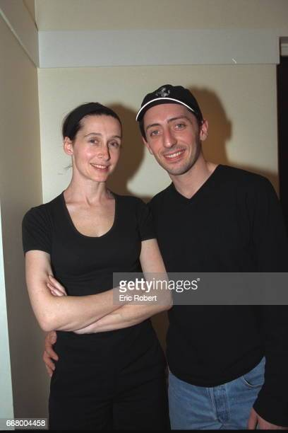 Anne Brochet and Gad Elmaleh came to listen to Cheb Mami
