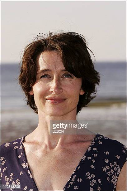 Anne Brochet At Cabourg Romantic Film Festiva In Cabourg France On June 10 2006 Anne Brochet at the Cabourg Romantic Film Festival In Cabourg France...