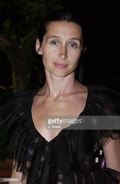 Anne Brochet during Venice 2001 Dust Party at Hotel Des Bains in Venice Lido Italy