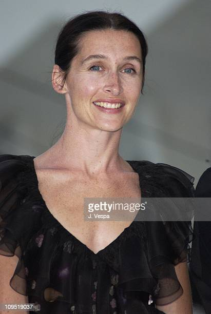 Anne Brochet during Venice 2001 Dust Premiere at Sala Grande in Venice Lido Italy