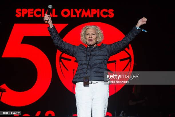 Anne Burke attends the Special Olympics 50th Anniversary Celebration Concert at Huntington Bank Pavilion at Northerly Island on July 21 2018 in...