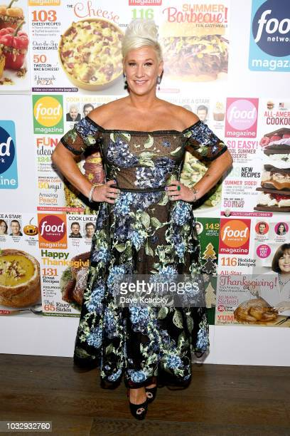 Anne Burrell attends the Food Network Magazine's 10th Birthday Celebration at Chelsea Piers at Pier 59 on September 13 2018 in New York City