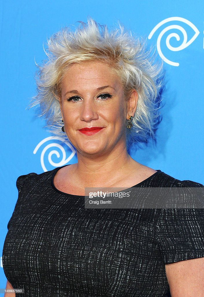 Anne Burrell attends the Time Warner Cable Media 'Cabletime' Upfront at Yotel Hotel on June 7, 2012 in New York City.