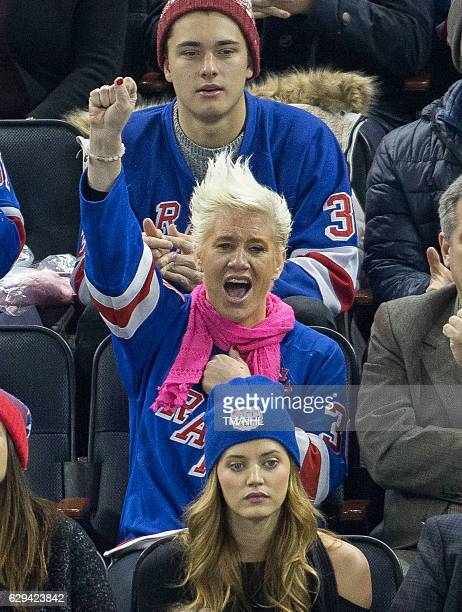 Anne Burrell seen at Madison Square Garden on December 11 2016 in New York City