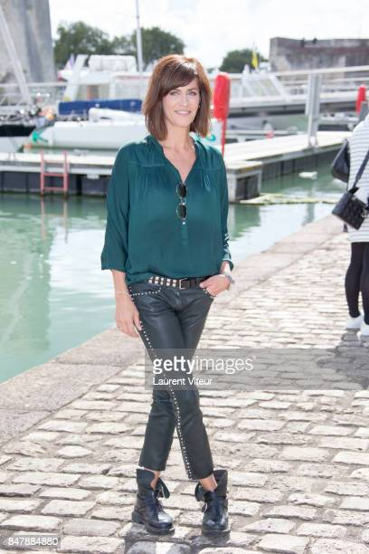 Anne Caillon attends 'Demain Nous Appartient Photocall during the 19th Festival of TV Fiction at La Rochelle on September 16 2017 in La Rochelle...