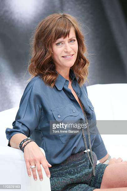 Anne Caillon attends the 'Dos Au Mur' Photocall as part of the 53rd Monte Carlo TV Festival on June 10 2013 in MonteCarlo Monaco