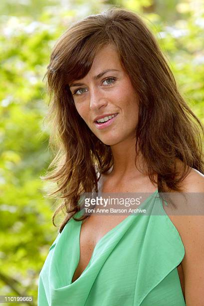 Anne Caillon during 2004 Monte Carlo Television Festival Zodiaque Les Montana Photocall at Japanese Gardens in Monte Carlo Monaco