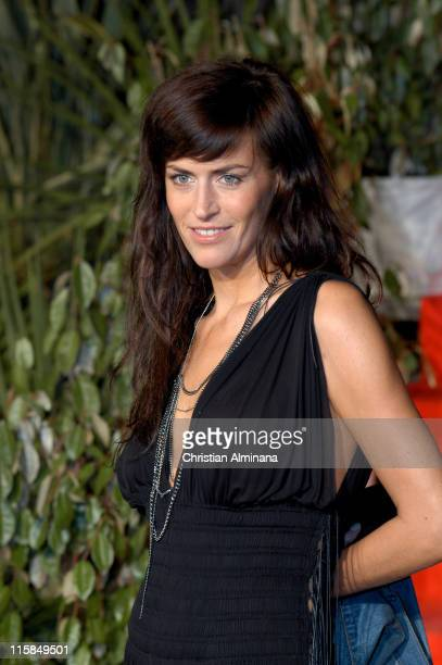 Anne Caillon during 7th SaintTropez TV Movie Festival Closing Cermony Arrivals at Espace des Lices in St Tropez France