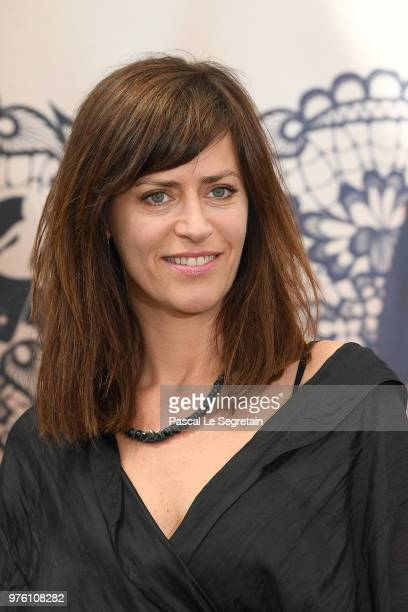 Anne Caillon from the serie Demain Nous Appartient attends a photocall during the 58th Monte Carlo TV Festival on June 16 2018 in MonteCarlo Monaco