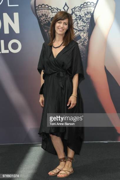 Anne Caillon from the serie 'Demain Nous Appartient' attends a photocall during the 58th Monte Carlo TV Festival on June 16 2018 in MonteCarlo Monaco