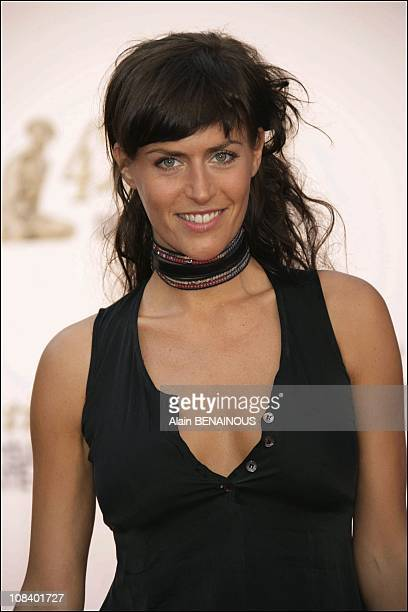 Anne Caillon of the series 'Les Montana' in Monaco on June 30 2005