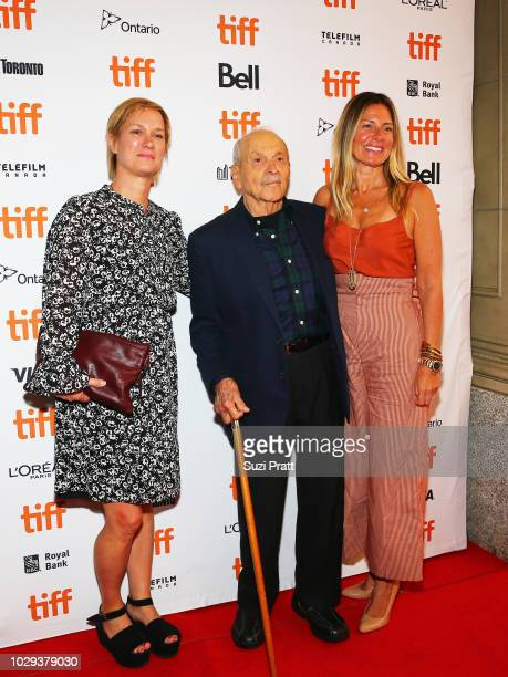 Anne Carey David Yarnell and Amy Nauiokas attend the Can You Ever Forgive Me premiere during 2018 Toronto International Film Festival at Winter...