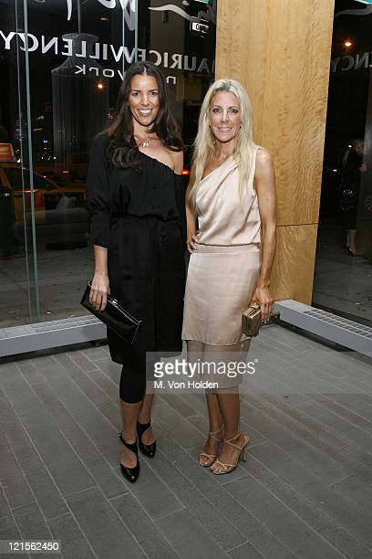 Anne Caruso and Elizabeth Loomis during The Launch of Carlos Mota for Villency Atelier Hosted by Eric Villency and Margaret Russell - November 15,...
