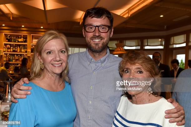 Anne Chaisson David Nugent and Judy Licht attend Cocktails to Learn About The Sag Harbor Cinema Project at Le Bilboquet on June 16 2017 in Sag Harbor...