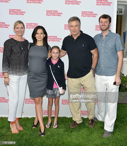 Anne Chaisson Hilaria Baldwin Skye Sodberry Alec Baldwin and David Nugent attend The Hamptons International Film Festival SummerDocs Series Presents...