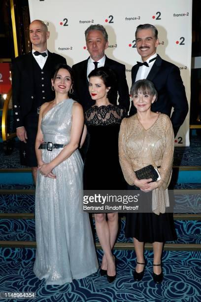 Anne Charrier Alice Dufour Sophie Artur a guest Nicolas Briancon and Moliere for Meilleur Comedien dans un second role for Le Canard a l'orange...