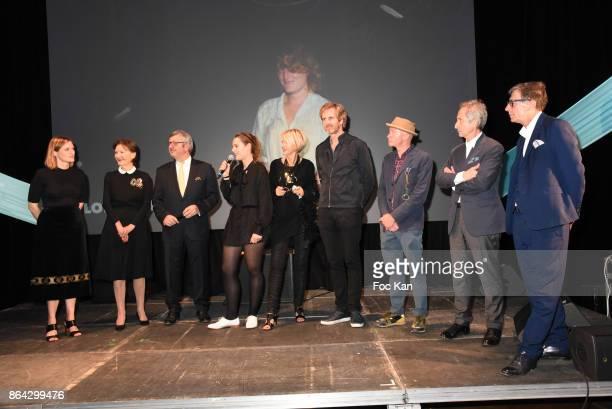 Anne Claire Schmitz Daniele Ricard Philippe Savinel Ricard Awarded Caroline Mesquita Colette Barbier from Ricard Fondation Frederic Jousset Fabrice...