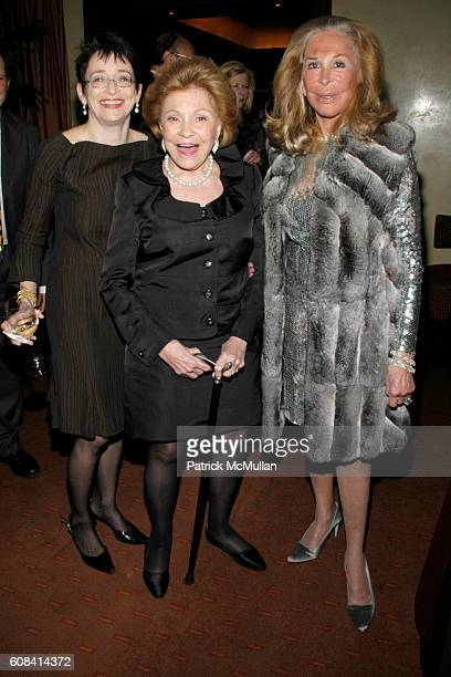 Anne Cohen Lillian Vernon and Elaine Sargent attend SAVORING CITYMEALS an intimate Sunday Dinner with DANIEL BOULUD to Benefit CITY MEAL ON WHEELS at...