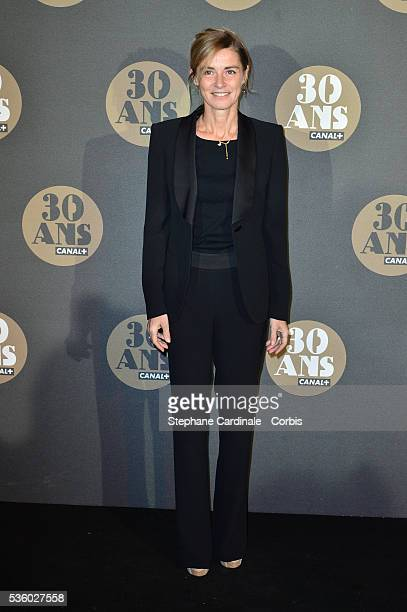 Anne Consigny attends the 30 Th Anniversary of Canal at Palais de Tokyo in Paris