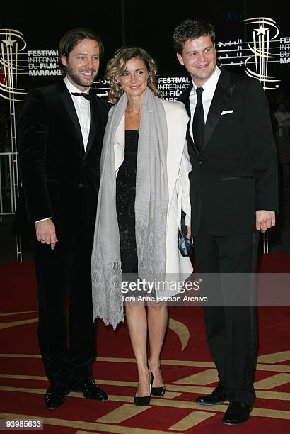 Anne Consigny attends the John Rabe premiere at the 9th Marrakesh Film Festival at the Palais des Congres on December 4 2009 in Marrakech Morocco