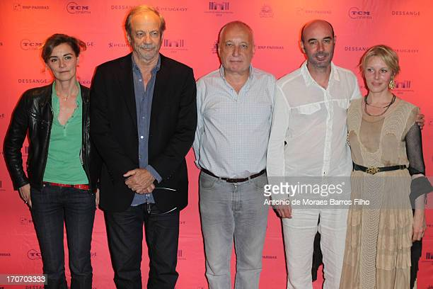 Anne Consigny Patrick Chesnais Francois Berleand Frederic Proust and Florence Thomassin attend the '12 Ans D'Age' Premiere As Part of The Champs...