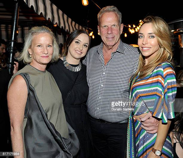 Anne Crawford Founding Partner and Creative Consultant at Doen Hilary Tisch producer Steve Tisch and Katia Francesconi attend Doen's celebration of...