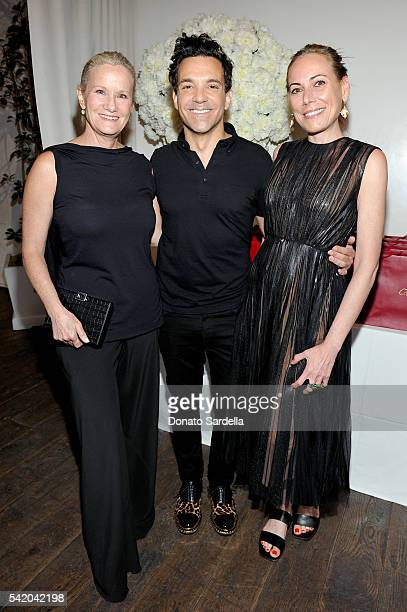 Anne Crawford George Kotsiopoulos and Angelique Soave attend as Susan Casden and Friends of The Costume Institute The Metropolitan Museum of Art host...