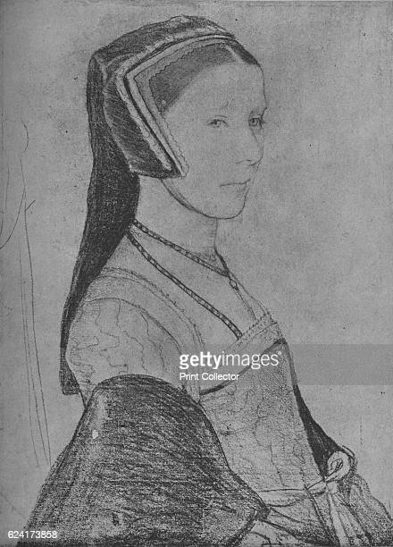 Anne Cresacre', c1527 . Anne More , wife of John More. The drawing is part of the Royal Collection Trust, Windsor Castle. From The Drawings of...