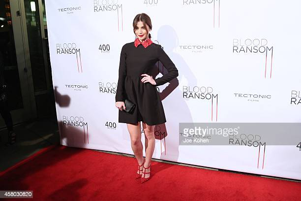 Anne Curtis attends 'Blood Ransom' Los Angeles Premiere at ArcLight Hollywood on October 28 2014 in Hollywood California