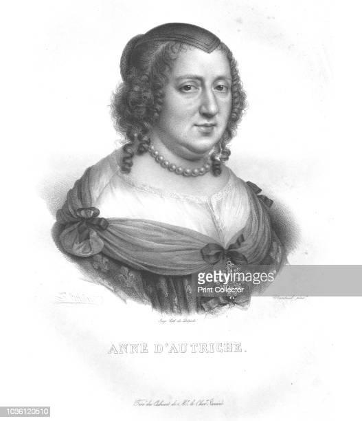 Anne D'Autriche' Anne of Austria Anne of Austria was queen consort of France and Navarre and regent for her son King Louis XIV Artist Zéphirin Félix...