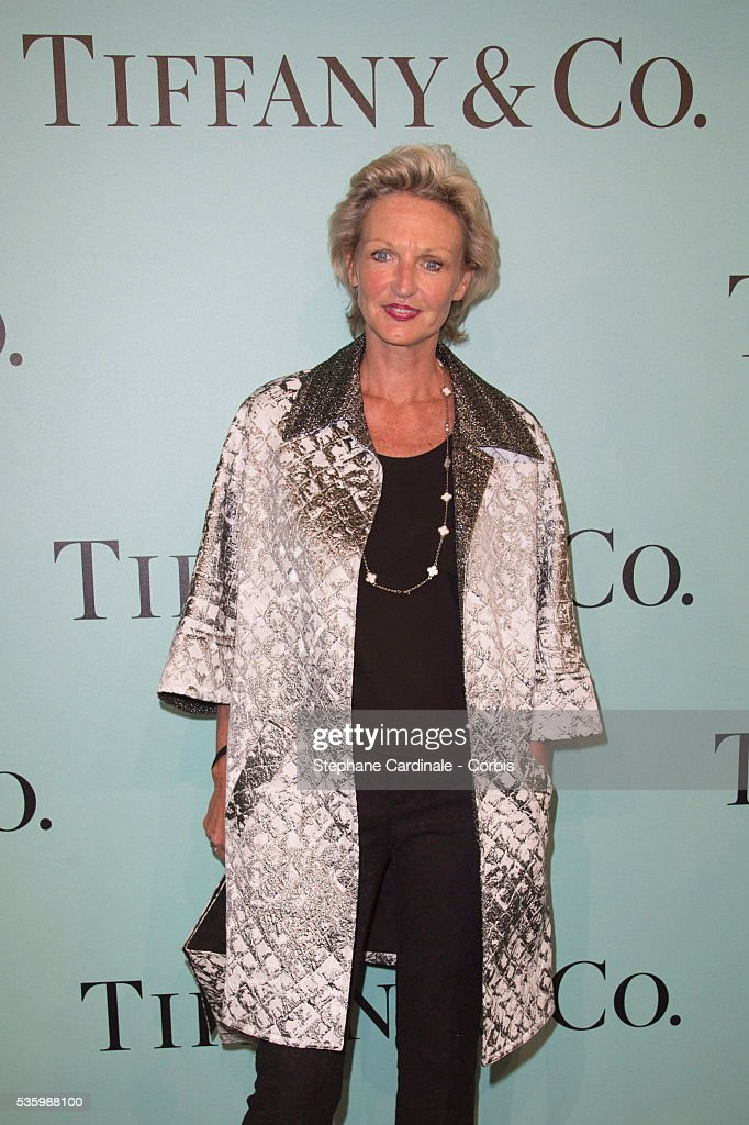 Anne De Bourbon Sicile attend the Tiffany & Co Flagship Opening on the Champs Elysee on June 10, 2014 in Paris, France.