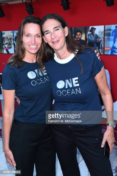 Anne de Carbuccia and Bianca Arrivabene attend One Ocean at Venice Film Festival on September 4 2018 in Venice Italy