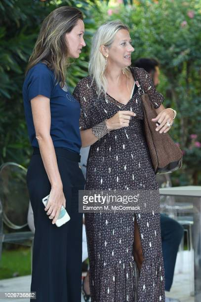 Anne de Carbuccia and Servane Giol attend One Ocean at Venice Film Festival on September 4 2018 in Venice Italy